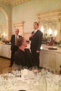 Hotelldirektøren Arne Marius Berg ved Britannia Hotel